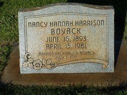 Nancy Hannah <i>Harrison</i> Boyack