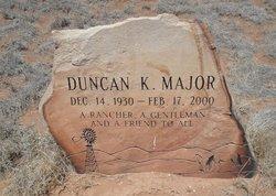 Duncan K Major