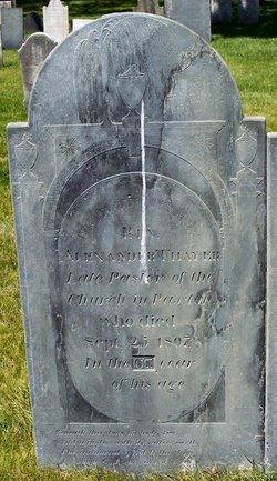 Rev Alexander Thayer