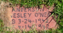 Wesley O'Neal Anderson