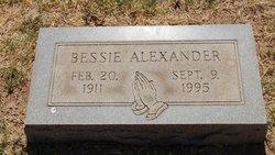 Bessie A Alexander