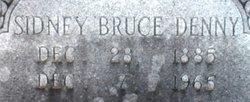 Sidney Bruce Sid Denny