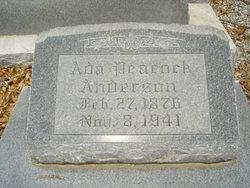 Ada <i>Peacock</i> Anderson