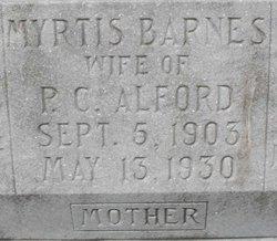 Myrtis <i>Barnes</i> Alford