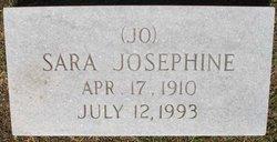 Sara Josephine Jo <i>Raburn</i> Alford