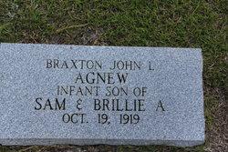 Braxton John L Agnew