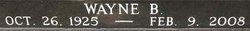 Pvt Wayne Beechum Alford