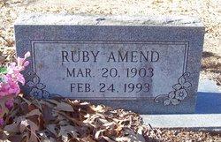 Ruby <i>Buley</i> Amend