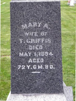 Mary Ann <i>Ditto</i> Griffis