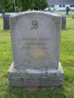Caroline <i>Soule</i> Binney Stoddard