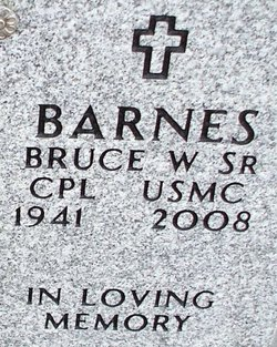 Bruce W Barnes, Sr