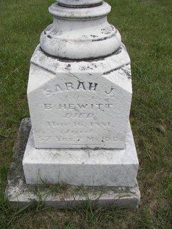 Sarah J Hewitt
