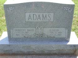 George Boyd Adams