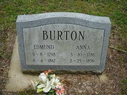 Anna <i>Severs</i> Burton