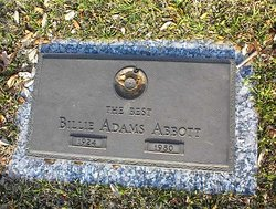 Billie <i>Adams</i> Abbott