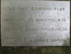 Lois Mae <i>Sampson</i> Fink
