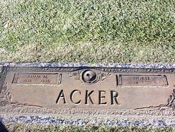 Anna Mae <i>Smith</i> Acker