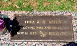 Thea A.M. Akers
