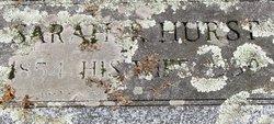 Sarah P <i>Hurst</i> Fonda