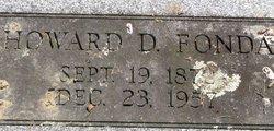 Howard D Fonda