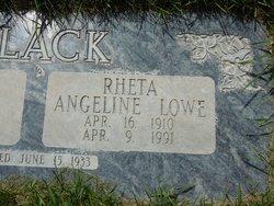 Rheta Angeline <i>Lowe</i> Black