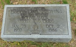 Carolyn Cookie <i>Land</i> Armstrong