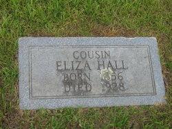 Cousin Eliza Hall