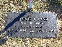 Charlie L Land