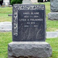Lydia A <i>Philhower</i> Blaine
