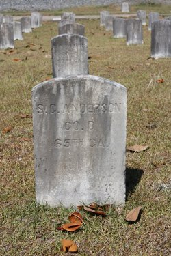 Pvt S. G. Anderson