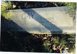 Chaney <i>Barger</i> Gay
