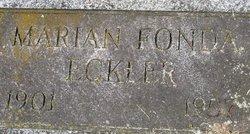 Marian Kling <i>Fonda</i> Eckler