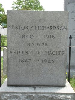 Antoinette Amelia Nettie <i>Thacher</i> Richardson