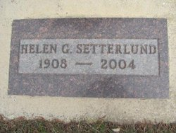 Helen Gertrude <i>Hiebert</i> Setterlund