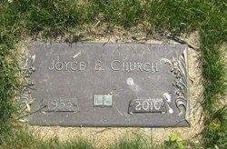Joyce Eileen <i>Lawrence</i> Church