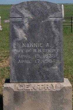 Nancy Ann Nannie <i>Stribling</i> Gentry