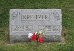 Anna Mary Annie <i>Hocker</i> Kreitzer