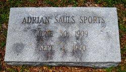 Adrian <i>Sauls</i> Sports