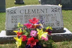 Martha Jane <i>Watts</i> Clement