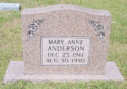 Mary Anne Anderson