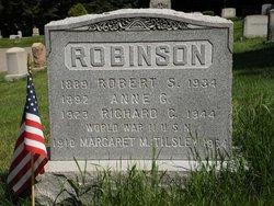 Anne Gertrude <i>Duddy</i> Robinson