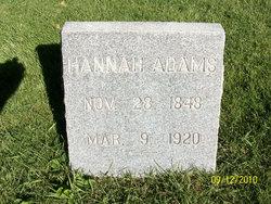 Hannah Matilda <i>Darnell</i> Adams