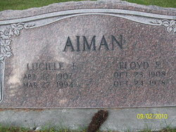 Lucille Erma Lyons <i>Wilkins</i> Aiman