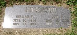 Ella Adeline <i>Christopherson</i> Anderson