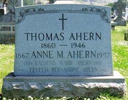 Anne Margaret Annie <i>Ward</i> Ahern