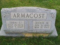 Annie May <i>Shaffer</i> Armacost