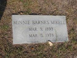 Minnie <i>Barnes</i> Mikell