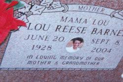 Lou Mama Lou Reese Barnes