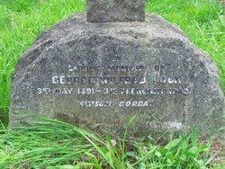 Lieut George Wilfred Lock