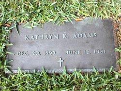 Kathryn <i>Kelly</i> Adams